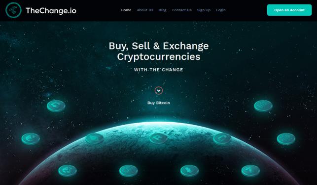 TheChange website