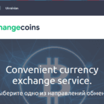 crypto payment processor ChangeCoins website